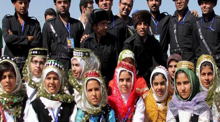Traditional clothes of Qarapapaqs considered as one of the most beautiful clothes.