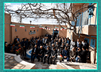 opening of the first lodge in Naghadeh city